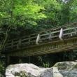 テツとドライブ♪ 広田村の仙波渓谷で川遊び