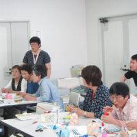 泉南市シニアいきいき講座「エコおもちゃを作りましょう!」