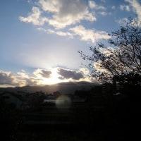 台風一過/夜のウオーキング/今日から雅展始まる
