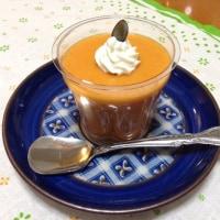 かぼちゃのマシュマロムース