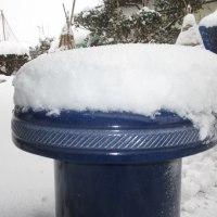 久しぶりの雪かき