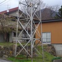 火の見櫓のある風景 飯山市瑞穂