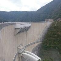 温井ダム 放流