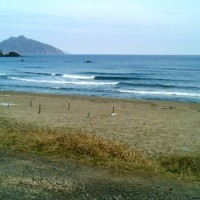今日もいい波でした!!
