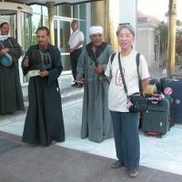 「エジプト・トルコ旅行記」 №131 今日の見学に出発