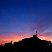 最近夕焼け空がキレイなんです!