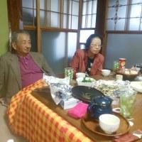 花咲の湯で食事会