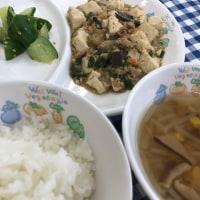 マーボー豆腐&のりじゃこトースト