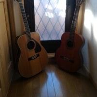 久々ギター、