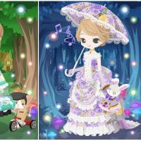 ニコッとタウン 2017年3月(10) 貴婦人のドレス ~Floral Bustle Dress~