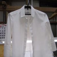 ヴァレンティノ ブラウス 衿・袖口洗い 綿素材