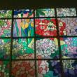 ホールの中にも紫陽花と