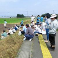大豆の「小うね立て深層施肥播種機」実演会を開催しました!