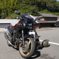 GPZ900R 白浜ツーリング