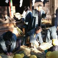 2017年01月17日 国府台天満宮の辻切りの儀式に行ってきた