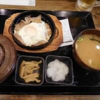 台東区上野 「炭火焼干物定食 しんぱち食堂 御徒町店」へ行く。。。「朝ぶたばら目玉定食&プレミアムモルツ」