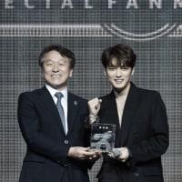 JYJ ジェジュンに感謝状…日本との友好親善や韓国観光のPRに寄与