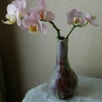 還元焼成のミニ花瓶