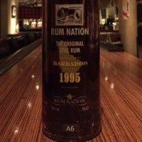 RUM NATION BARBADOS(1995/2008)  700ml,43%