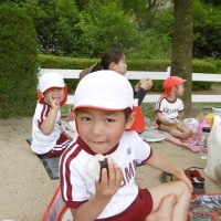 6・13阪神競馬場公園幼児遠足