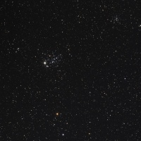 カシオペア座の散開星団シリーズ NGC457 NGC436