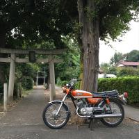 今日のAX125橙2(10月22日)