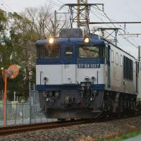 2017年2月22日  新金貨物線   EF64-1017 1094レ