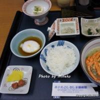 ホテルこしきしま親和館の朝ごはんの後は長浜港から串木野新港へ。