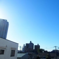 東京の今朝の天気:晴れ