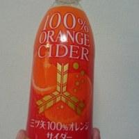 果汁100%でサイダー?!