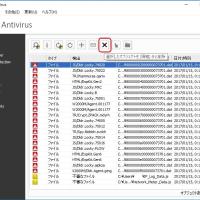 久しぶりに、Avira でシステムスキャンを実施したら、22ケものウイルスが検出されました。(その2・原因推定と対策)