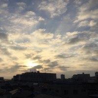 秋日和の穏やかな朝ですね(^o^)(^o^)