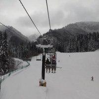 久しぶりのスキー場