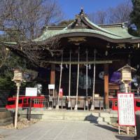 「川口氷川神社」冬バージョンの押印〜御朱印の旅