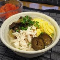 鶏飯(けいはん)でサラサラっと朝ごはん♪ お中元のお酒
