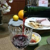 分厚いロースハムとワインの日