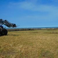 動き出した春の農作業