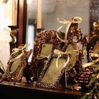 プライベートハウスのクリスマスコーナー