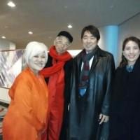 ♪ ミキ大ぞの会・新春フォーラムに、 あの、 東口高志先生ご夫妻が…