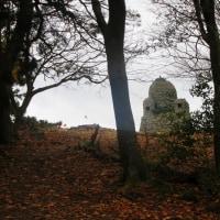 13 三笠山・星ヶ城山(671・817m:香川県小豆島町寒霞渓)登山  烽火台に到着