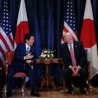 トランプ大統領、安倍首相と会談し、北朝鮮問題は「解決されるだろう」