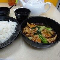 香港地元飯 時菜沙爹猪肉飯