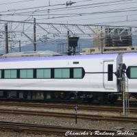《鉄道写真》E353系~松本車両センターにて~