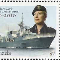 切手に見る世界の海軍   カナダ
