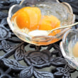 Peach jelly & Loquat jelly as Today's Sweets but not gelatins