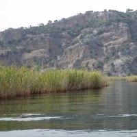 ダルヤン湿地帯を漕ぐ