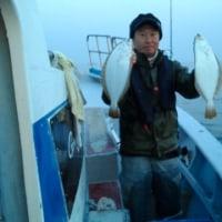 午前便メバル、午後便ヒラメ釣りです。