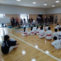スポーツ少年団空手道県大会スタッフ講習会