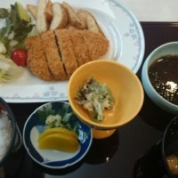 今日のお昼、武志山荘レストラン
