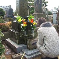 友のお墓参りと、私の通う趣味の会